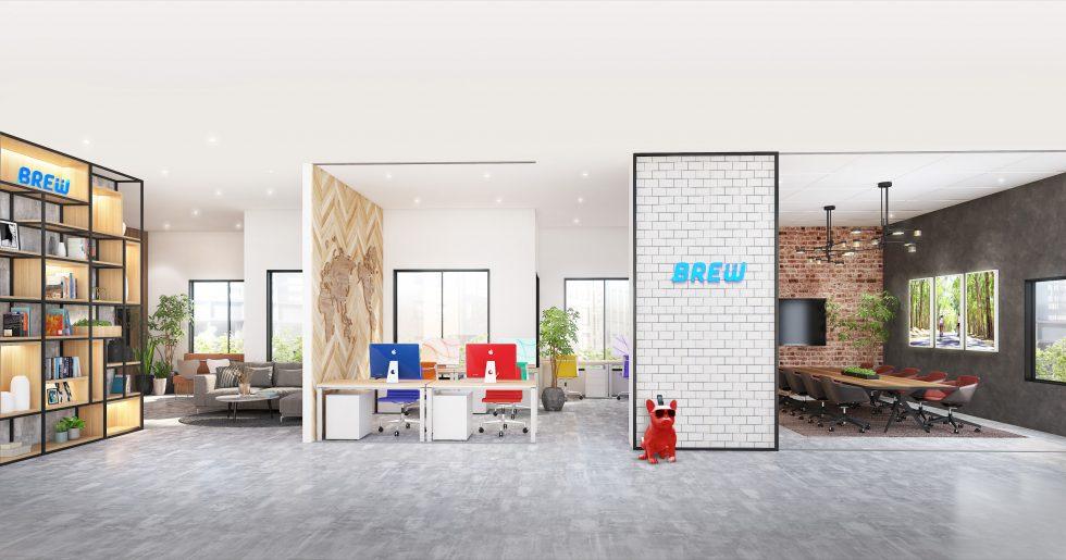 BREW新オフィス